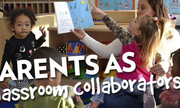 New PD: Parents as Classroom Collaborators